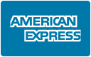 American Express (AMEX) card payments accepted