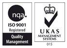 ISO 9001 registered (Quality Management) UKAS